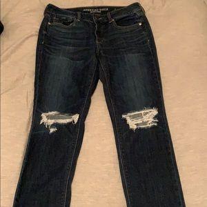 American eagle Tom girl jeans